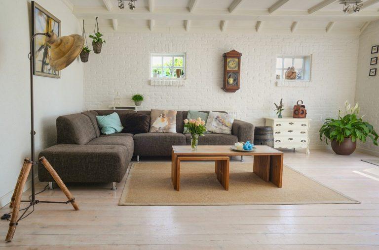 Eleganckie i funkcjonalne meble w pokoju dziennym