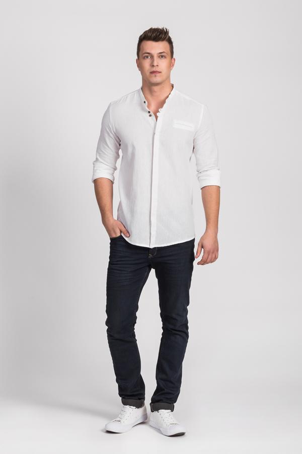 Koszule męskie białe - Trendy 2021