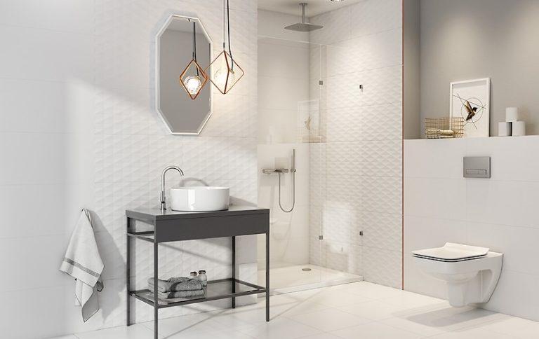 Nowoczesne płytki łazienkowe – jak wybrać niezawodną ceramikę?